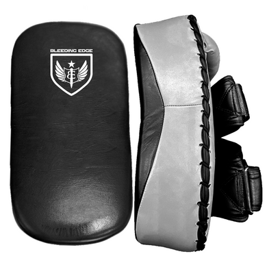Premium Muay Thai Pads - Grey/Black