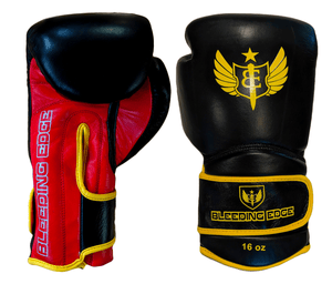 "The Gauntlet ""Fire Storm"" - Muay Thai Gloves - 16oz"