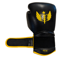 "Load image into Gallery viewer, The Gauntlet ""Fire Storm"" - Muay Thai Gloves - 16oz"
