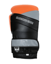 Load image into Gallery viewer, War Hammer - Muay Thai Boxing Gloves - Orange/Black