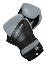 Load image into Gallery viewer, War Hammer - Muay Thai Boxing Gloves - Gray/Black