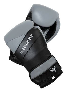 War Hammer - Muay Thai Boxing Gloves - Gray/Black