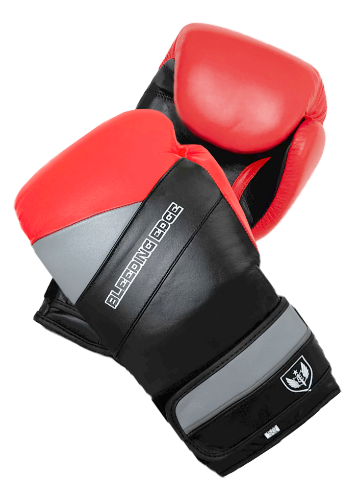 War Hammer - Muay Thai Boxing Gloves - Red/Black