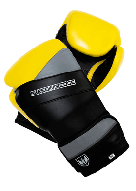 War Hammer - Muay Thai Boxing Gloves - Yellow/Black