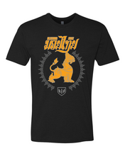 Load image into Gallery viewer, Muay Thai Lion Shirt - Yellow Logo
