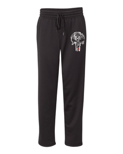 Authentic Brazilian Jiu Jitsu Performance White Skull Bottoms