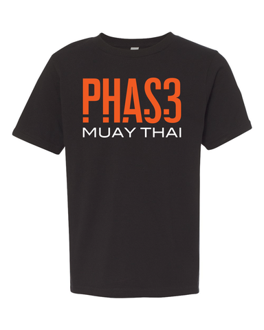 Phas3 Kids- Muay Thai Shirt