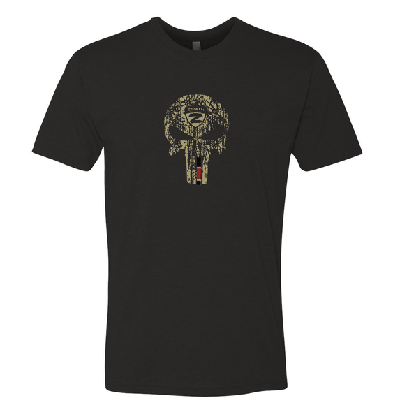Authentic Brazilian Jiu Jitsu Shirt - Tan Skull