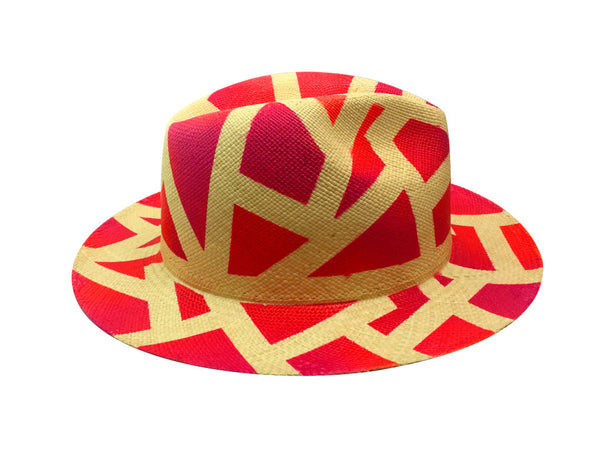 Graffiti Panama Hat
