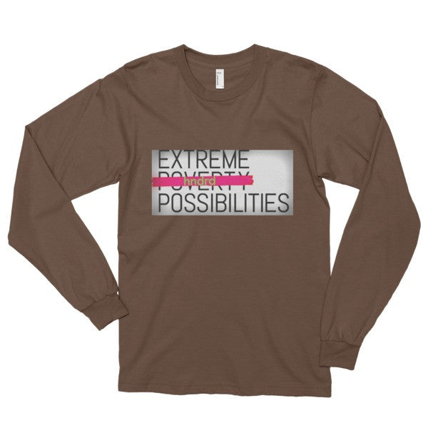 Extreme Possibilities Long Sleeved T-Shirt