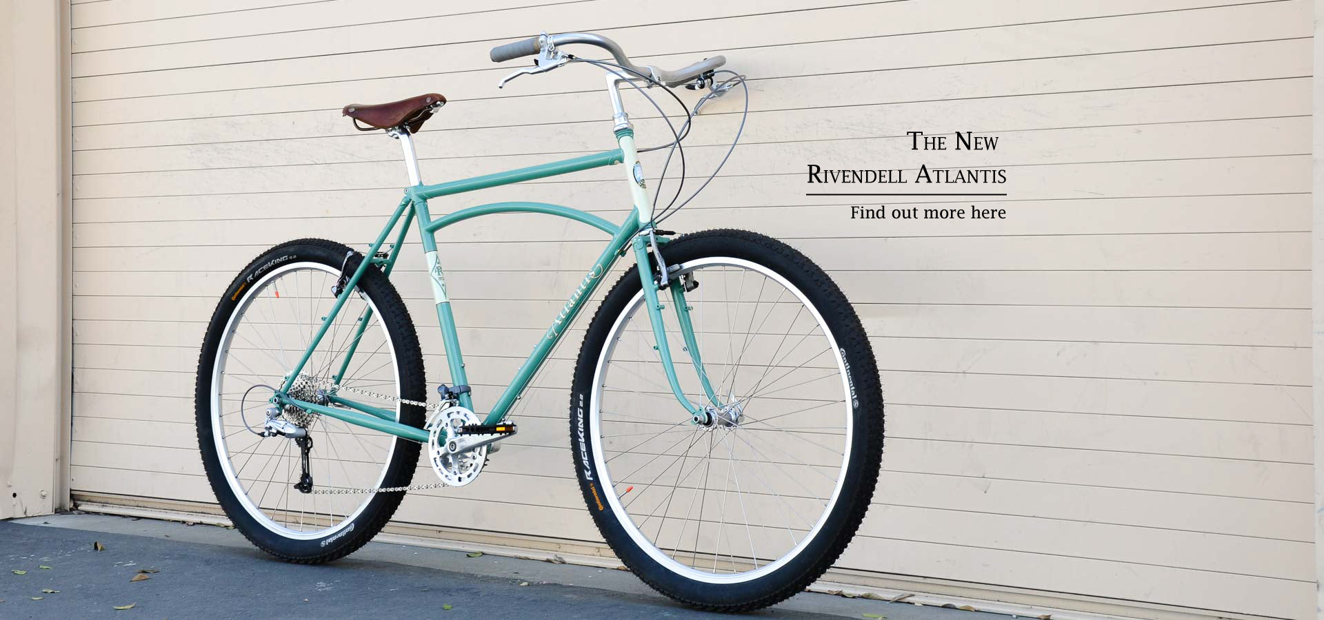 Rivendell Bicycle Works - Lugged Steel and Custom Bikes