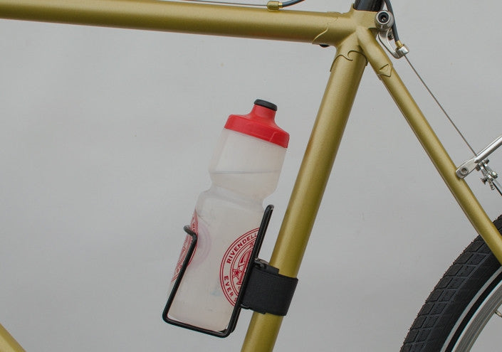 Twofish QuickCage / Strap-on WaterBottle Cage, chrome