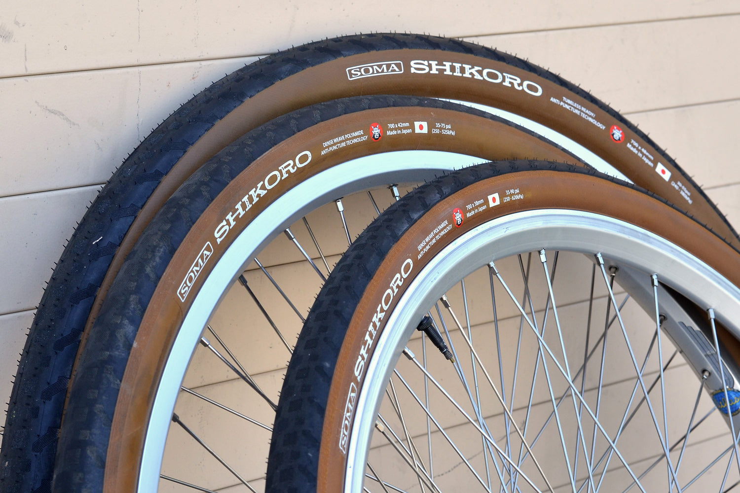 Soma Shikoro Tires - 700c Various sizes