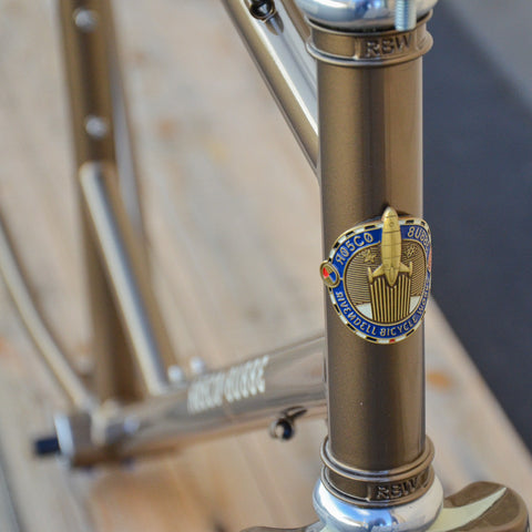 Rosco Road Frameset - Bronze 53cm