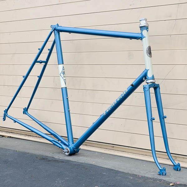 Frame - 65cm A Homer Hilsen - English Lt Blue - 130mm rear spacing