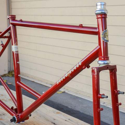 Rosco Bubbe Frameset - Red 51cm
