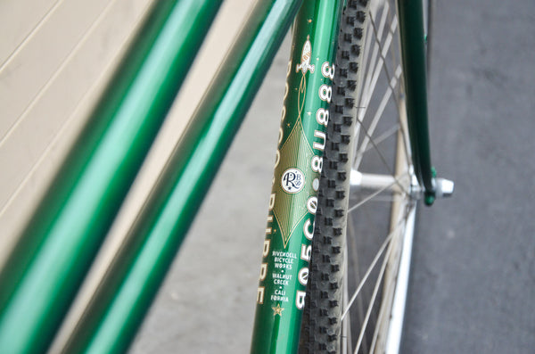 Rosco Road Frameset - Green 55.5cm