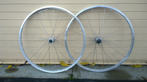 "650b/27.5"" Velocity-Built Riv *BUDGET* Shimano/Alex Wheel Kit"
