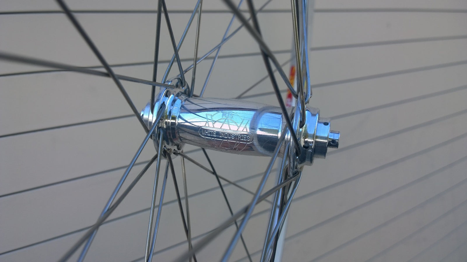 Wheelset - Velocity Atlas / White Industries MI5, bto
