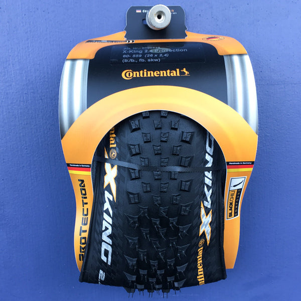 "Continental X-King Protection 2.4"" folding bead tire"