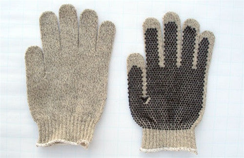 Dotty Wool Gloves, pair