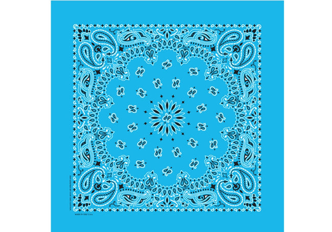 Bandanna - Light Blue