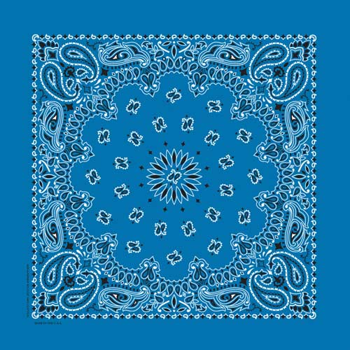 Bandanna - Mirage Blue