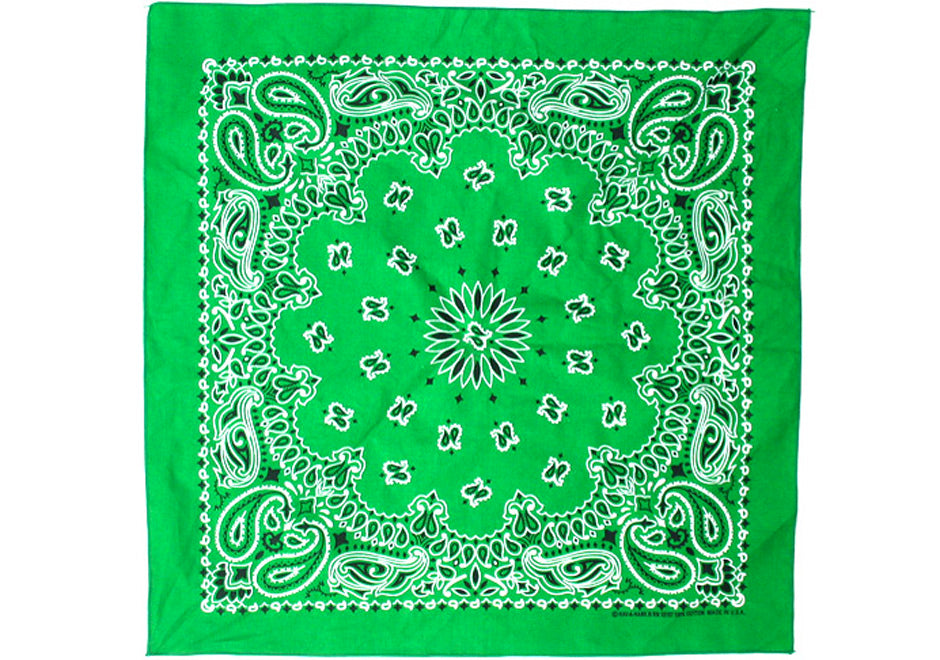 Bandanna - Kelly Green