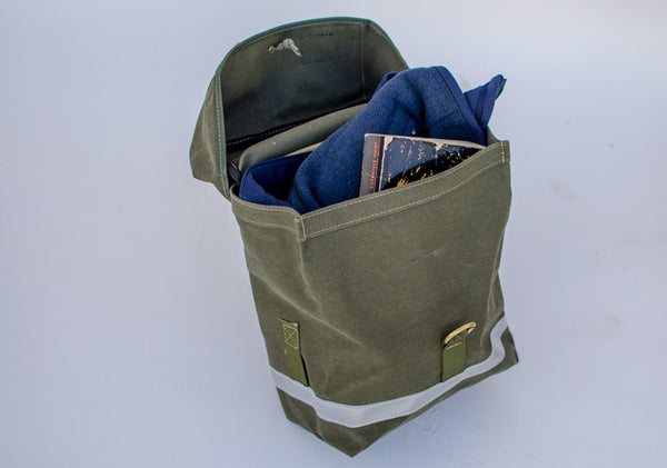 Sackville Hub Area Bag, pair, Olive