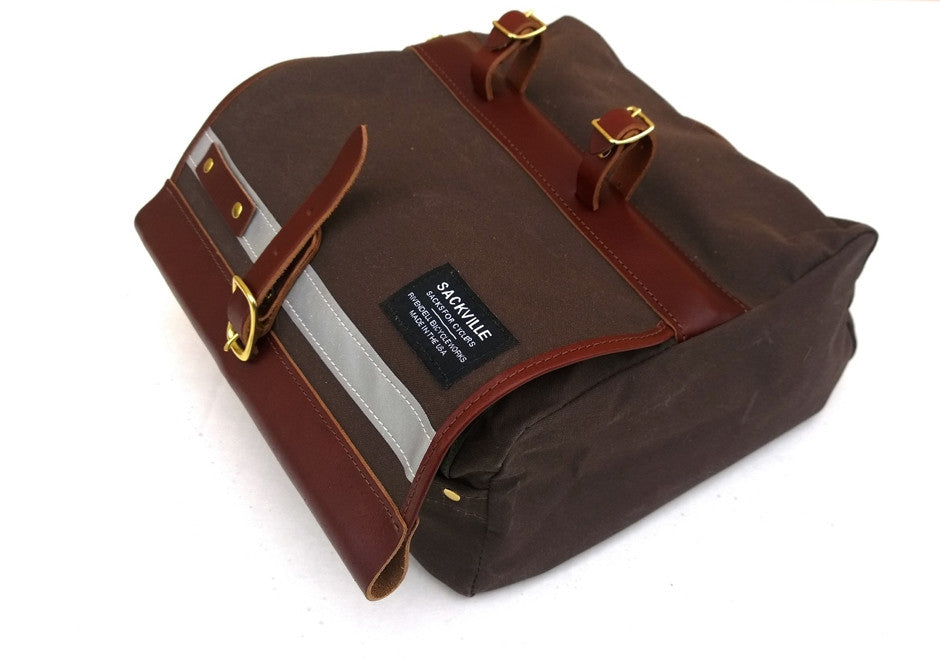 Sackville SaddleSack Small - Dark Brown