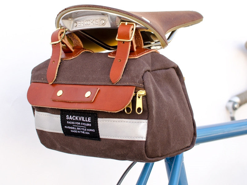 Sackville SaddleSack XSmall - Dark Brown