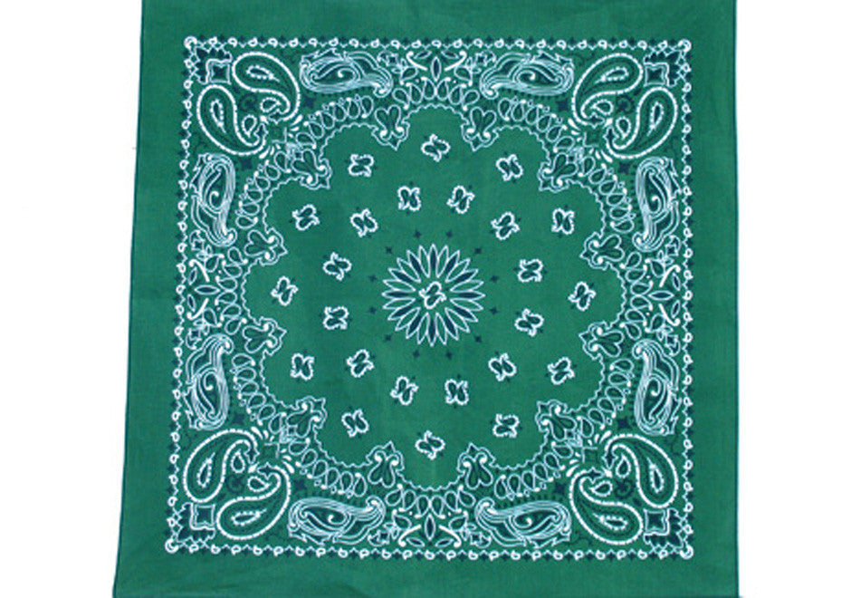 Bandanna - Hunter Green