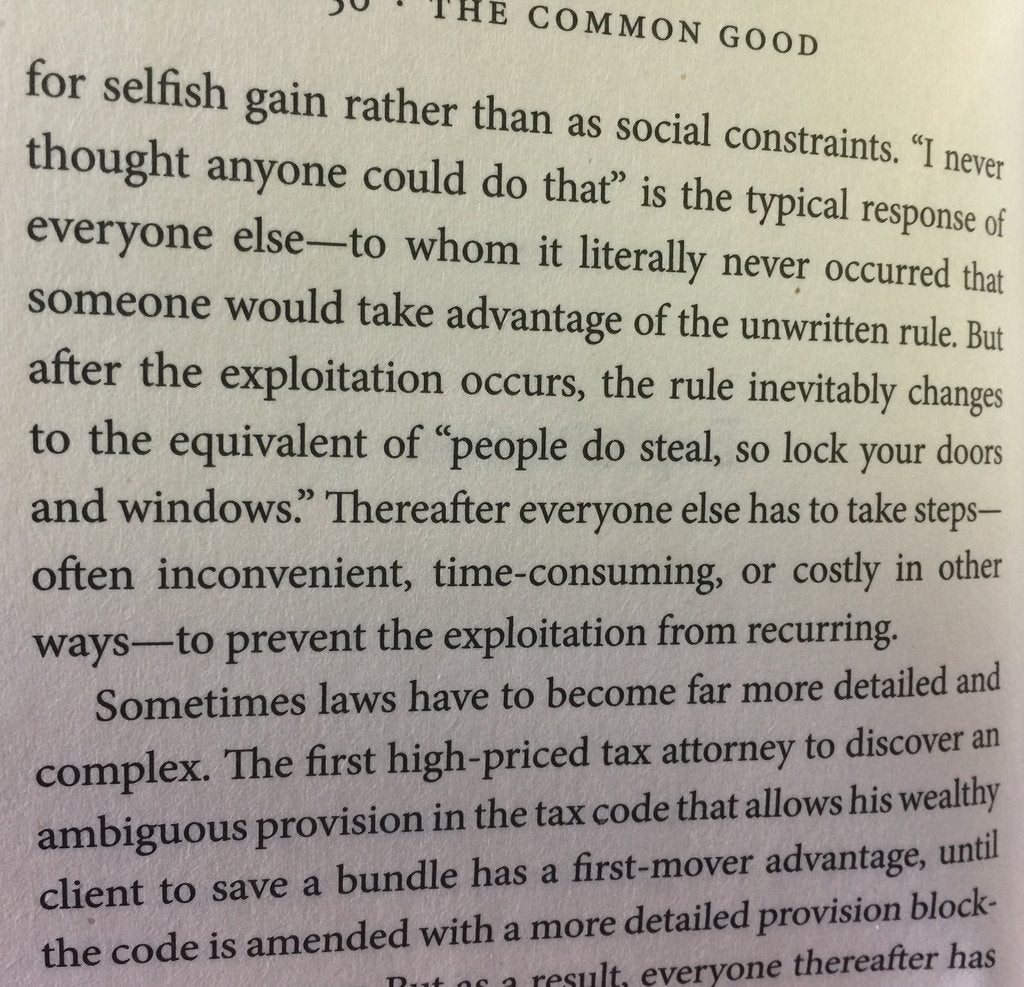 Book - The Common Good