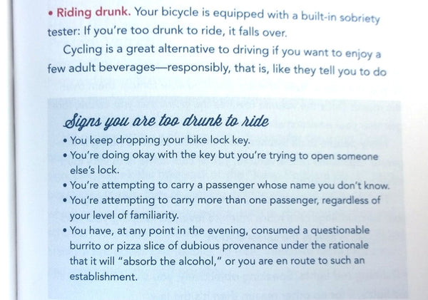 The Ultimate Bicycle Owner's Manual (bike snob)