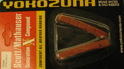 Yokozuna 73mm Slip-In Brake Pads - SALMON