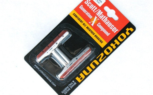 Brake Pads - Yokozuna Cartridge 73mm Shoes & Salmon Pads