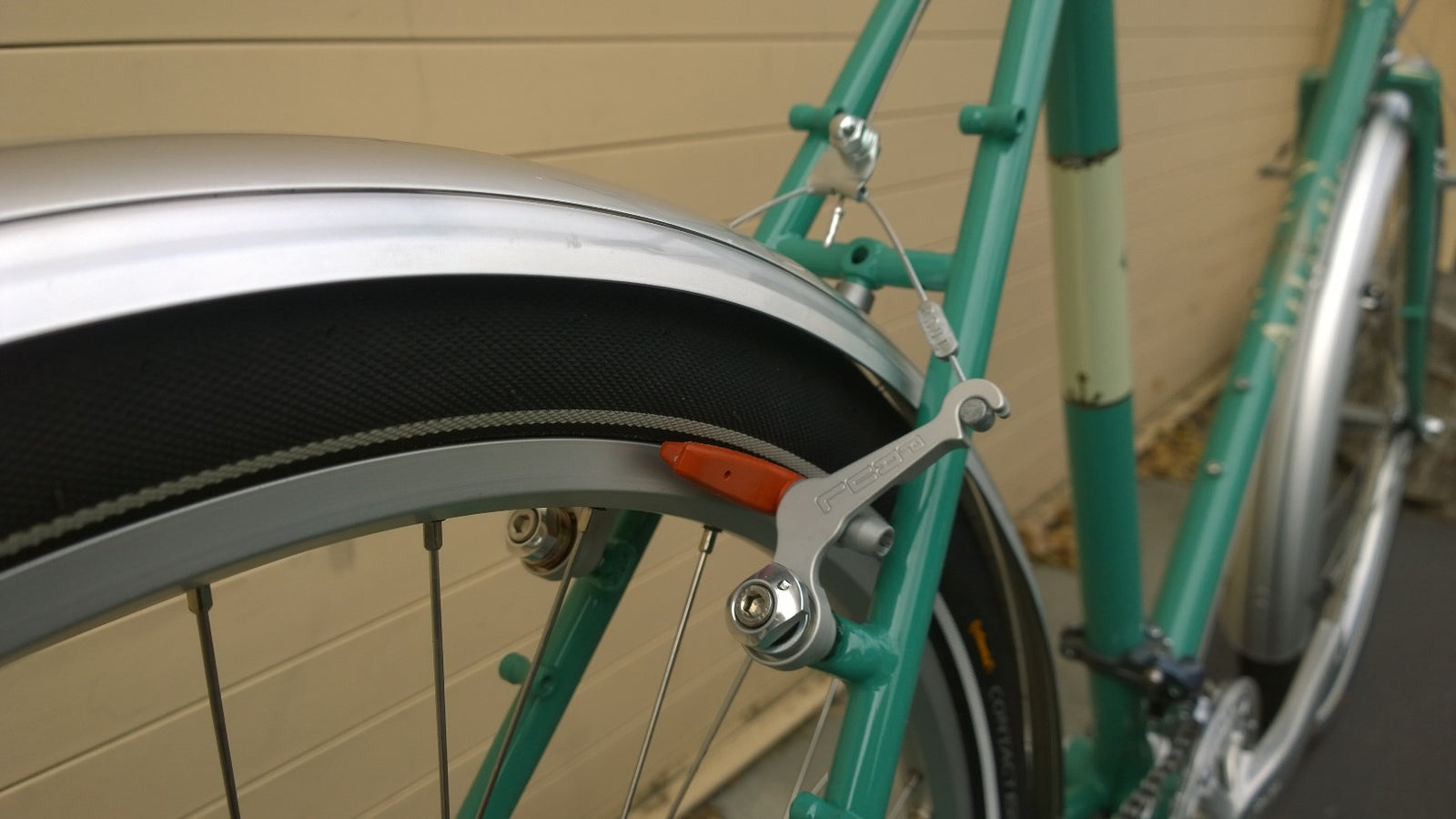 Paul Components Touring Front Rear Cantilever Brake Polish