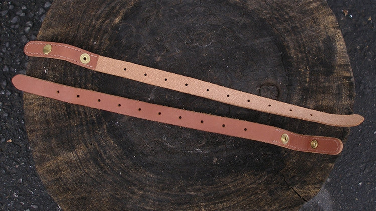 "Sackville leather strap, LONG Snap 17"" - each"