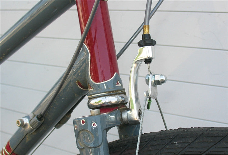 Brake Hardware -  Cable hanger, front, frame mount, Tektro