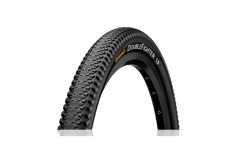 Continental Double Fighter III wire bead tire