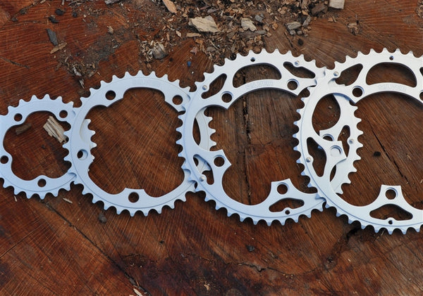 Rivvy Silver Chainrings