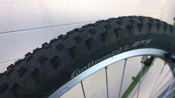 "Continental X-King Sport 650B x 2.4"" wire bead tire"