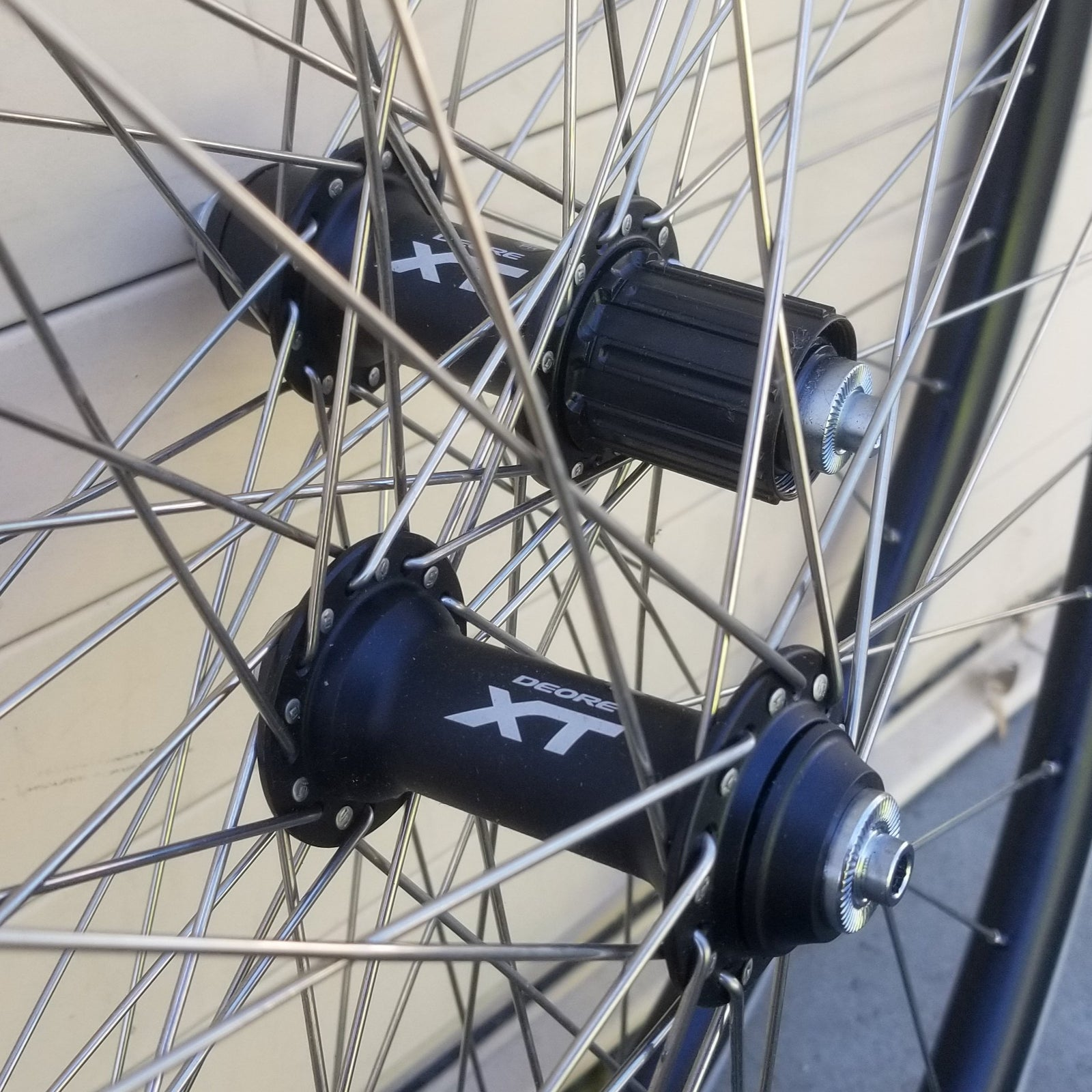 Wheelset - 700c/29er - Velocity Quill / Shimano Deore XT, webspecial web special ws
