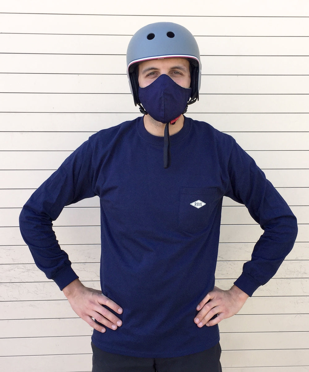Rivendell Flying Rider Longsleeve Shirt - Navy