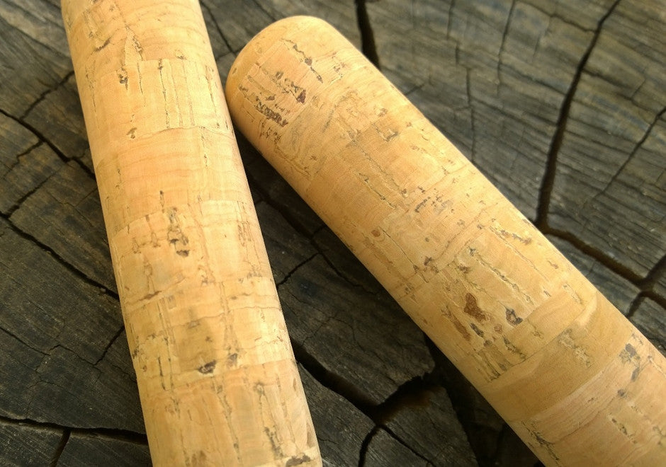 Handlebar Grip - Portuguese Tree Cork Grips - Normal