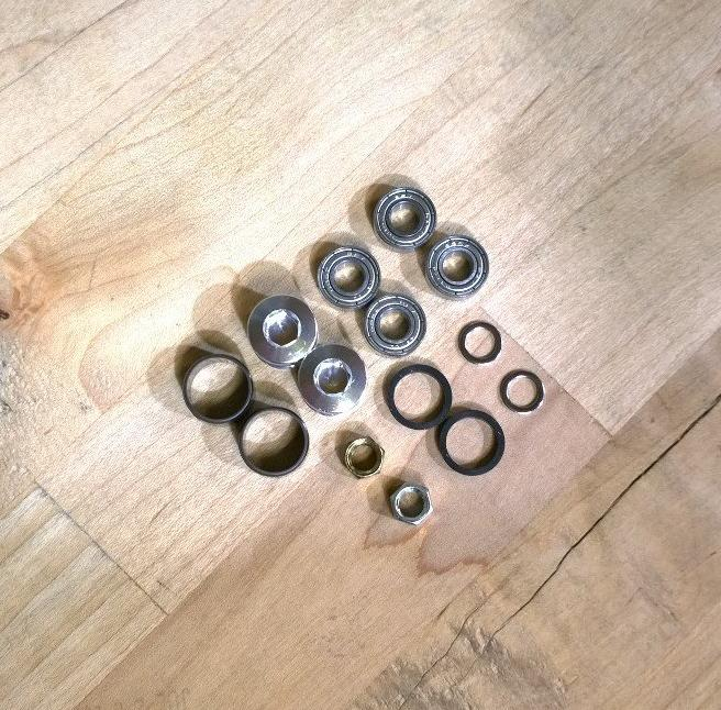 Rebuild bearing kit for VP Thin Gripsters pedals (VP-001)