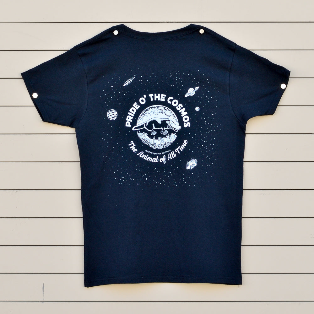 Platypus: Pride O' the Cosmos Short Sleeve - Women's fit (shorter sleeves)