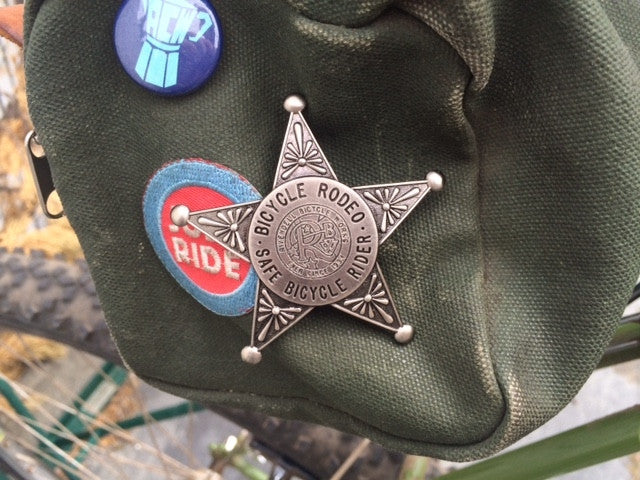Safe Rider Sheriff Star