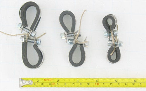 Nitto P-Clamps, pair