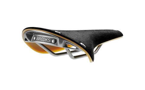 Saddle - Brooks Cambium C17 special Black/Copper